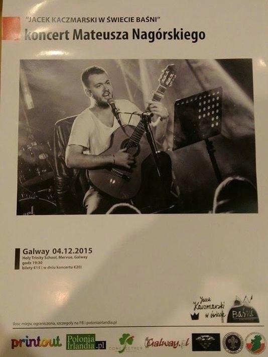 koncert Mateusza Nagórskiego,Galway